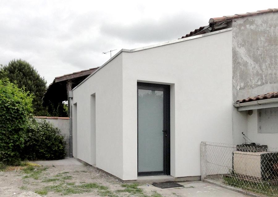 Extension maison m pierre bertin architecte bordeaux for Extension maison bordeaux