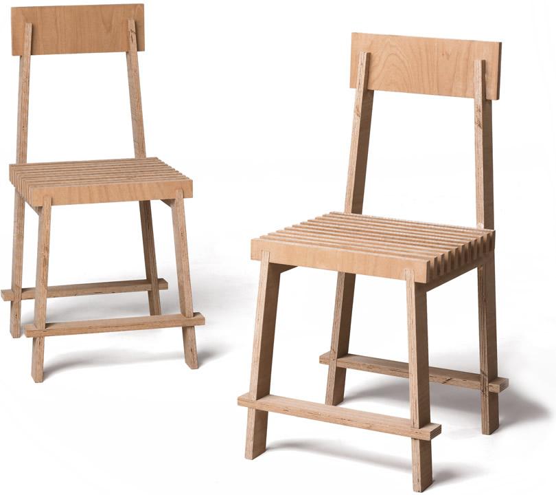 1 Squaremeter = 2 Chairs - Max Kuwertz
