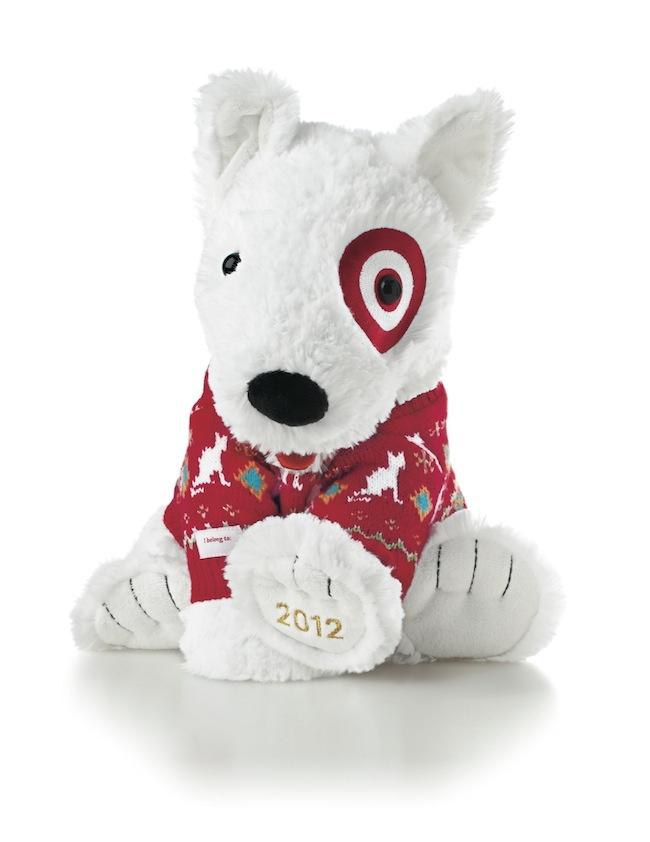 Plush Target Dog Target Bullseye Plush Puppy
