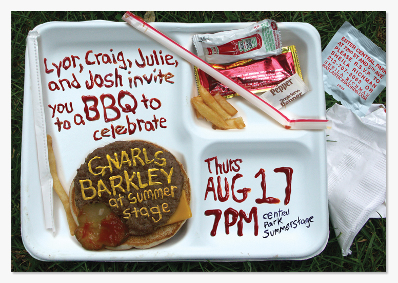 Summerstage Bbq Invitation Obriski
